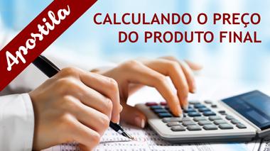 E-book Calculando o Preço do Produto Final